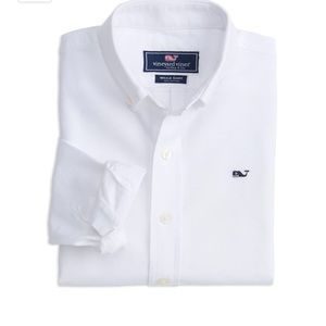White Vineyard Vines Oxford Button Down